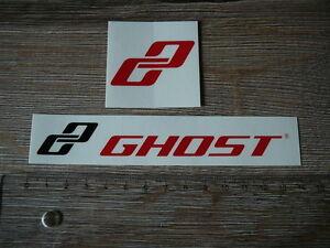 Sticker - Aufkleber - Dekor  Mountainbike Rennrad - Ghost (924)
