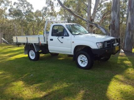 1998 Toyota Hilux Ute, Farmers ute , work ute, un modified. Kurri Kurri Cessnock Area Preview