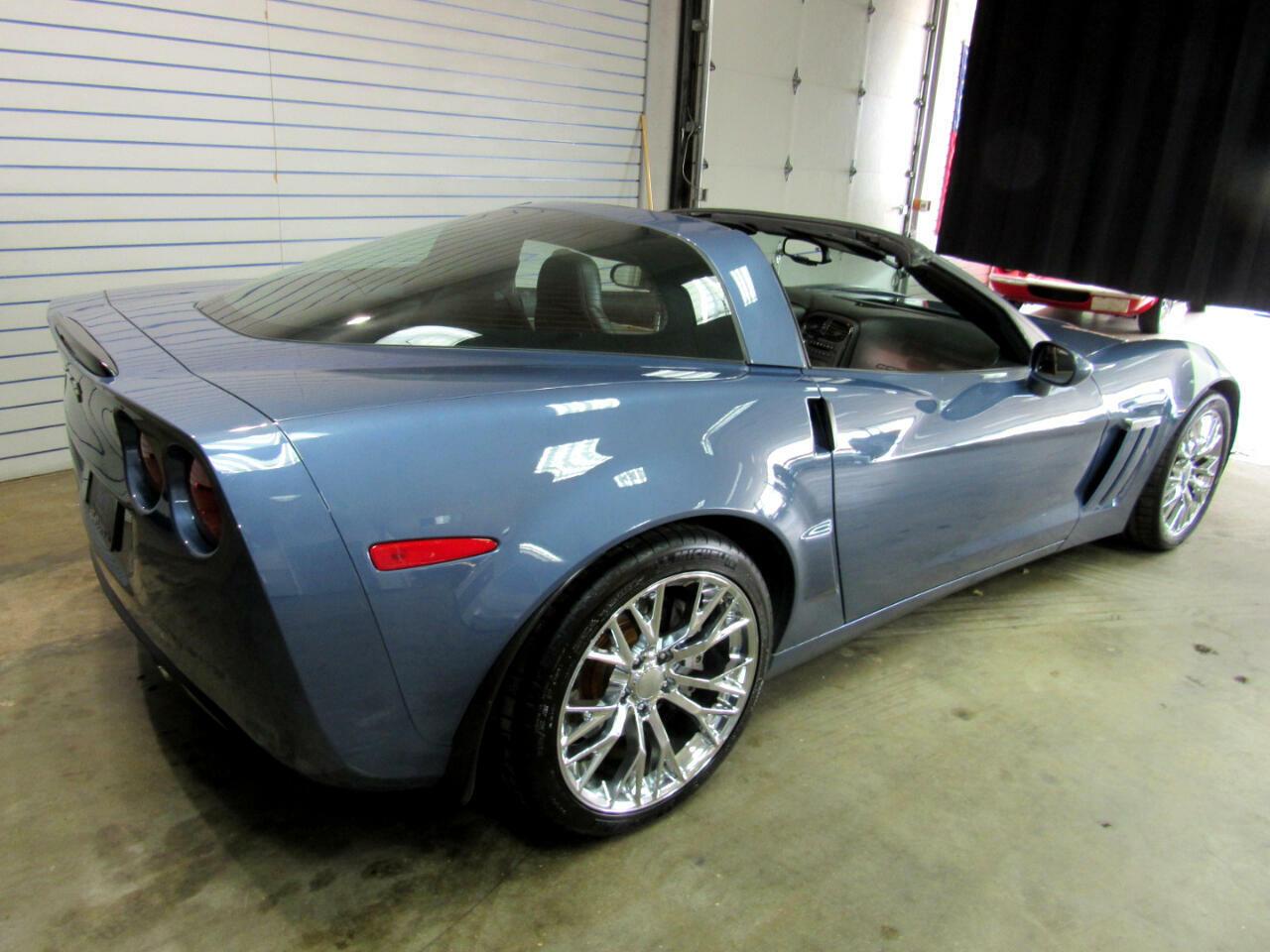 2011 Blue Chevrolet Corvette Coupe 3LT   C6 Corvette Photo 5