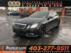 2011 Mercedes Benz E-Class E350 4MATIC / Leather / Sunroof / Bac