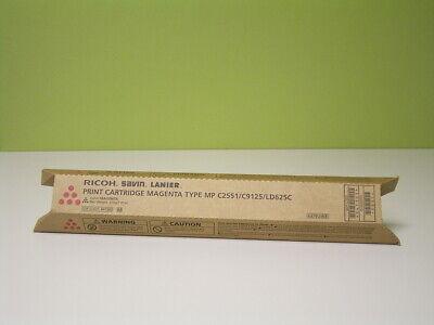 841502 - Genuine Oem Ricoh Savin Lanier Magenta Toner Mp C2551 C9125 Ld625c