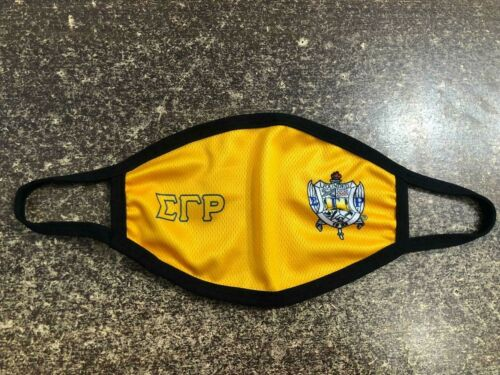 SIGMA GAMMA RHO FACE MASK, SGRHO FACEMASK , SIGMA GAMMA RHO SORORITY INC MASK