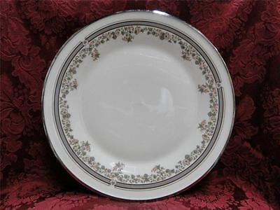 Lace Platinum Dinner - Lenox Lace Point, Gray and Pink, Platinum: Dinner Plate (s) 10 7/8