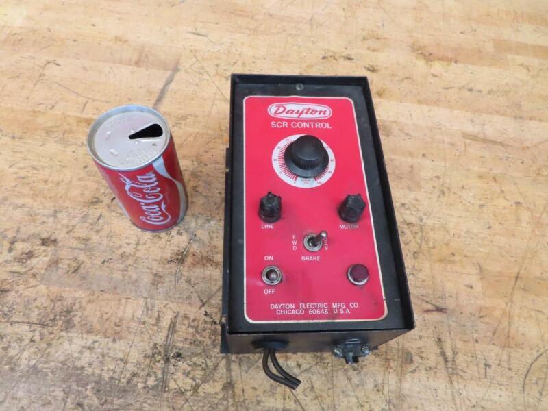 Used Dayton Electric SCR Control