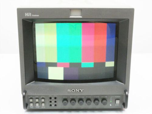 "SONY PVM-8044Q HR TRINITRON COLOR PRODUCTION MONITOR 8"" ~ UNIT B VII"