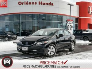 2015 Honda Civic LX, HEATED SEATS, BACK UP CAMERA,BLUETOOTH 2015