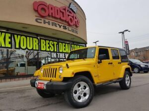 2015 Jeep Wrangler Sahara UNLIMITED NAVI REMOTE START LOW KMS 4X