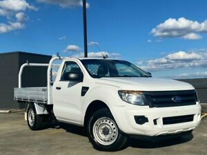 2012 Ford Ranger PX XL White 6 Speed Manual Cab Chassis Blacktown Blacktown Area Preview