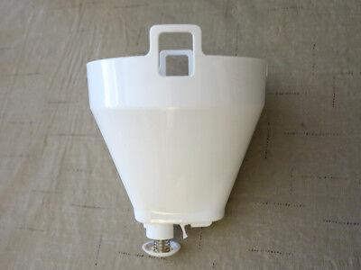 Filter Basket for Gevalia CM500 12 Cup Coffee Maker, White, Original, CLEAN