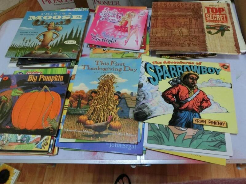 Huge Lot 55 K 1st  2nd 3rd  Grade AR Picture Books TEACHER LIBRARY