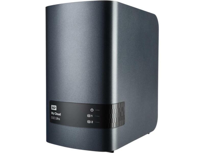 WD Diskless My Cloud EX2 Ultra NAS - Network Attached Storage - Dual-Core Proces