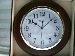 Westclox Deerfield Quartz Decorative Wall Clock 46081