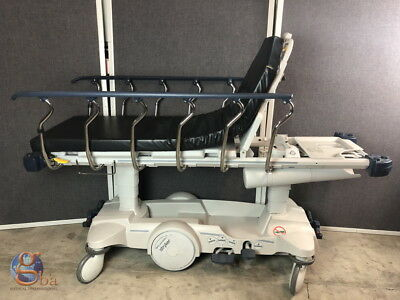 Stryker Big Wheel 1015 Glideaway Pacu Emergency Stretcher Gurney W New Mattress