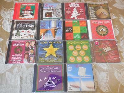 14 CD LOT Country Christmas Nashville RCA All LIKE NEW & NEW & PROMOS  #15