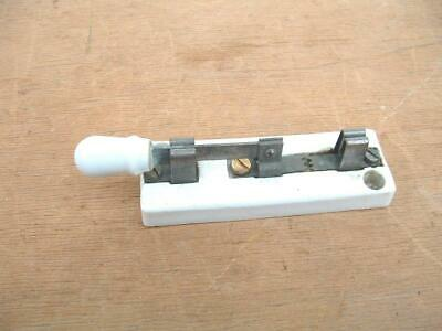 Vintage ceramic single pole circuit isolation switch