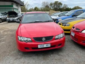 2002 Holden Commodore VY SV8 Red 4 Speed Automatic Sedan Werribee Wyndham Area Preview