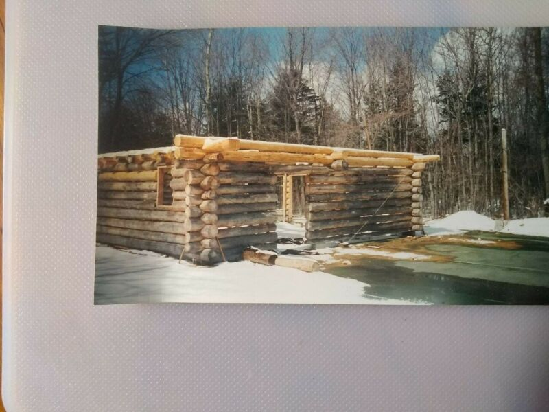 log home, notched Red Pine ready to build 1592 sqft home