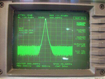 Hp Agilent 8562a Spectrum Analyzer 1 Khz To 22 Ghz