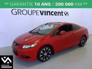 2013 Honda Civic Si GPS-TOIT-CAMERA DE RECUL** GARANTIE 10 ANS *