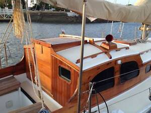 Timber Classic Yacht - Sloop - Fully Restored 120K spent Toowong Brisbane North West Preview