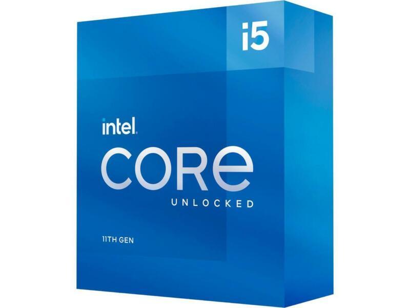 Intel Core i5-11600K - Core i5 11th Gen Rocket Lake 6-Core 3.9 GHz LGA 1200 125W