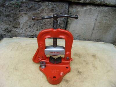 Ridgid Model 25 18 To 4 Inch Pipe Vise Works Fine