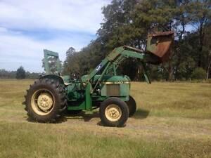 JOHN DEERE Tractor 1040 50HP Loader Pwr Steering Nabiac Great Lakes Area Preview