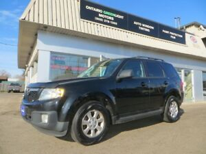 2010 Mazda Tribute Limited,6cyl,AWD,LEATHER,Sunroof,Back up Came