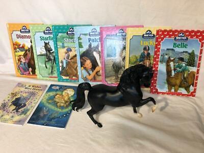 BREYER Stablemates Horse Collection Seven 9 Book Lot HC PB VG Scholastic +BONUS!