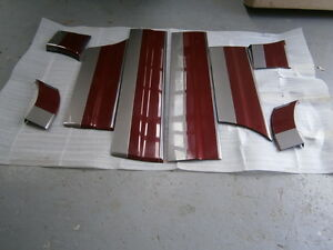 HOLDEN  WH STATESMAN  DOOR MOULDS  9 COLOURS  NEW GENUINE  LH and RH  SETS