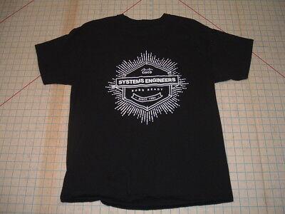 Born Ready Cisco Systems Engineers Ss Black T Shirt Adult Medium Med Technology