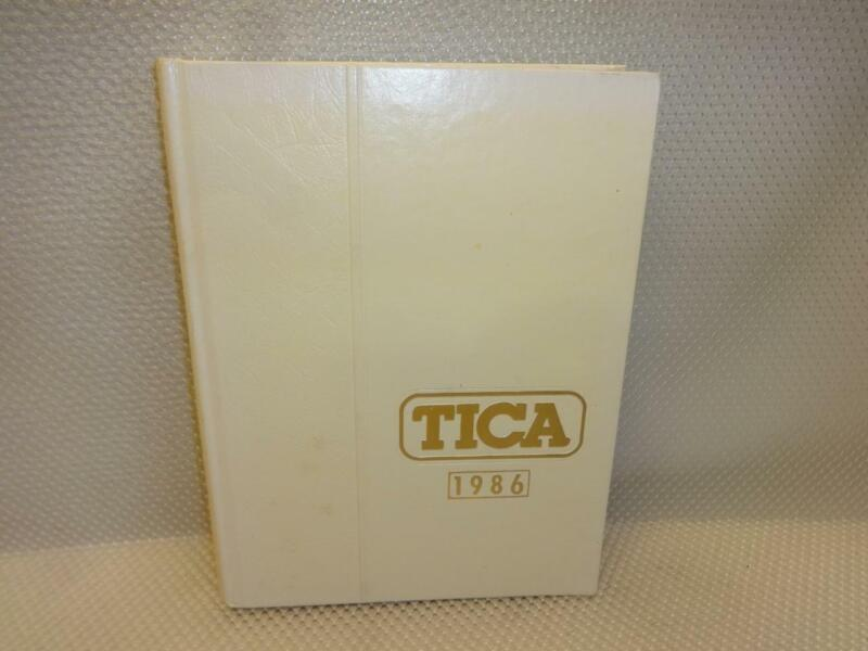 1986 TICA THE INTERNATIONAL CAT ASSOCIATION YEARBOOK BOOK