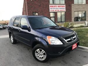 Immaculate & Sharp 2004 Honda CR-V EX, Sold Fully Certified