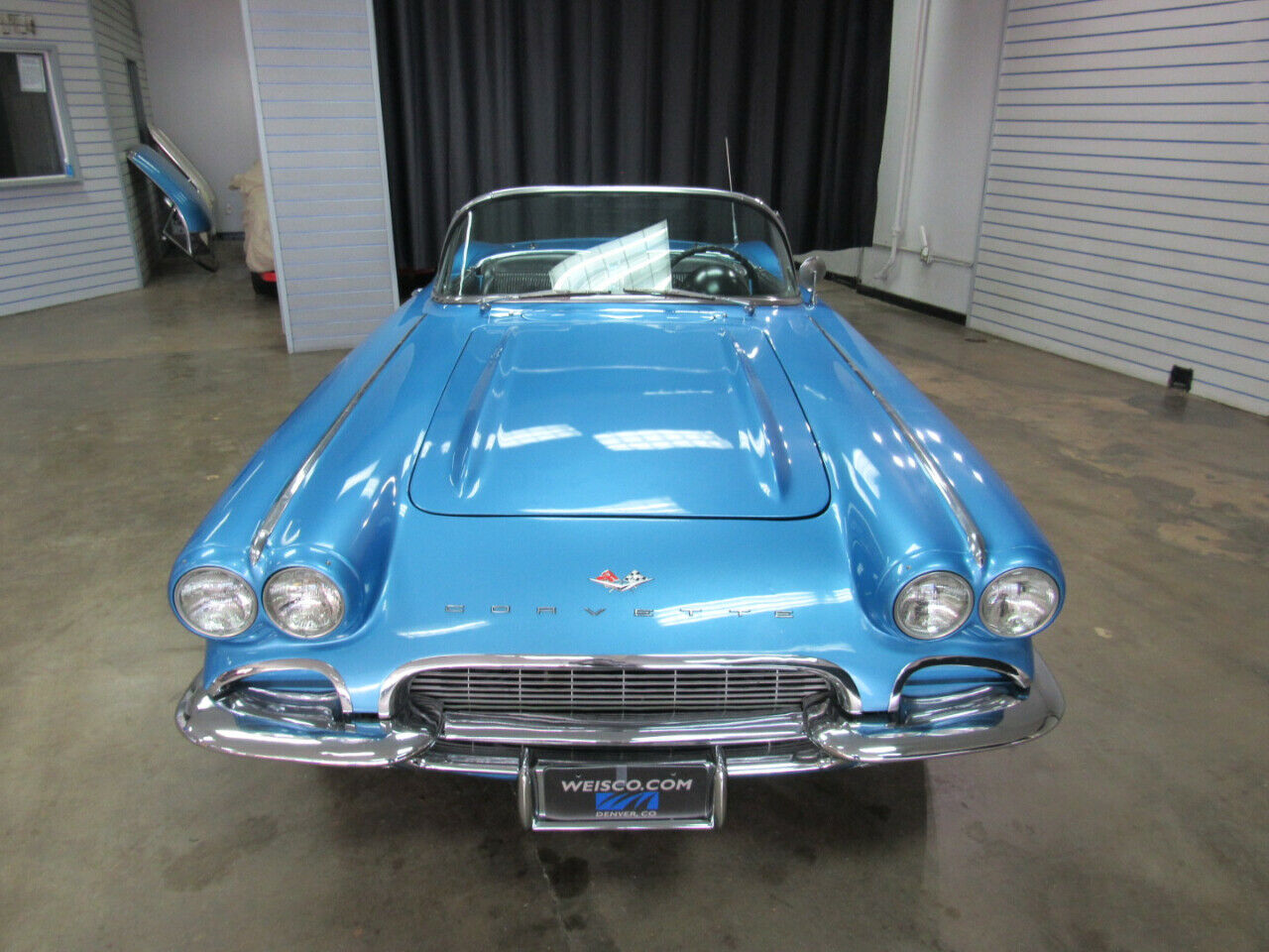 1961 Blue Chevrolet Corvette   | C1 Corvette Photo 7