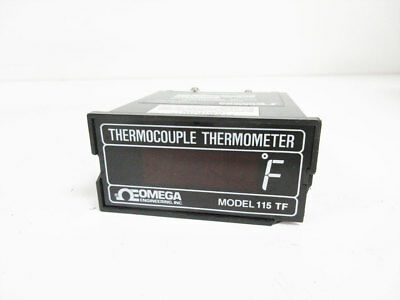 Omega 115 T-f Digital Thermometer Thermocouple Fahrenheit