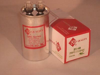 25 Mfd 370-440vac Round Electric Motor Run Oil Filled Capacitor 25 Uf Hvac Volts