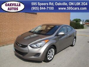 2012 Hyundai Elantra GL **NO ACCIDENT** SAFETY AND WARRANTY INCL