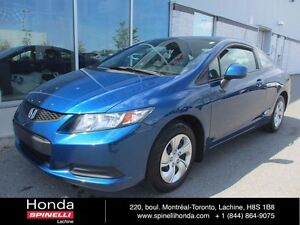 2013 Honda Civic Coupe LX AUTO GAR PROLONGEE EXT WARRANTY
