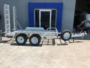 Ozzi 10x5 Plant Trailer Tare 500kgs Molendinar Gold Coast City Preview