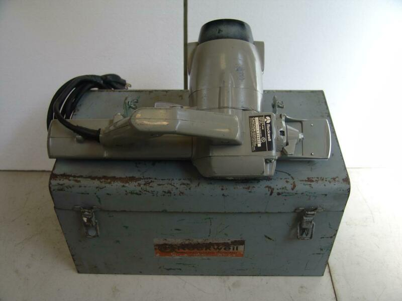 Rockwell Model 126 Porta-Plane Industrial Door Planer