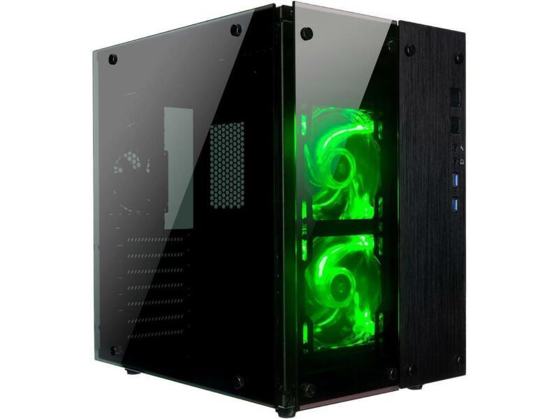 ROSEWILL Micro ATX Slim Computer Case with PSU slim computer case design 30...