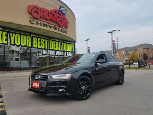 2014 Audi A4 Komfort LEATHER SUNROOF BLK WHEELS CLEAN