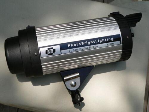 PHOTO BRIGHT LIGHTING SL300 STUDIO STROBE #2809 SUPER CLEAN & WORKING