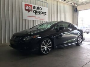 2013 Honda Civic Coupe Si HFP / Jamais Accidenté / Navy / Cam Re