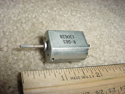 Small Dc Electric Motor 1-34 Vdc 10823 Rpm 25g-cm- M51