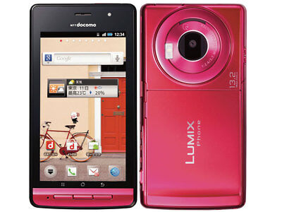 DOCOMO PANASONIC P-02D LUMIX PHONE 13.2 MP HD 3D ANDROID SMARTPHONE UNLOCKED NEW ()