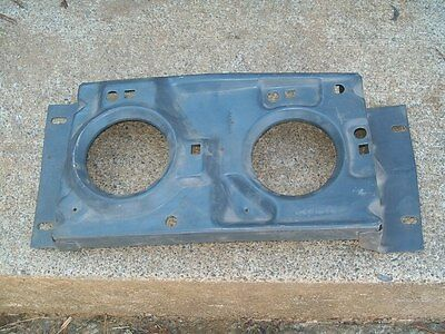 1972 Plymouth Fury NOS MoPar Left W/O Concealed HEADLAMP MOUNTING PANEL 3573315
