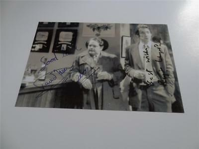 ONLY FOOLS & HORSES SIGNED REPRINT DAVID JASON & ROGER LLOYD PACK YUPPY LOVE BAR