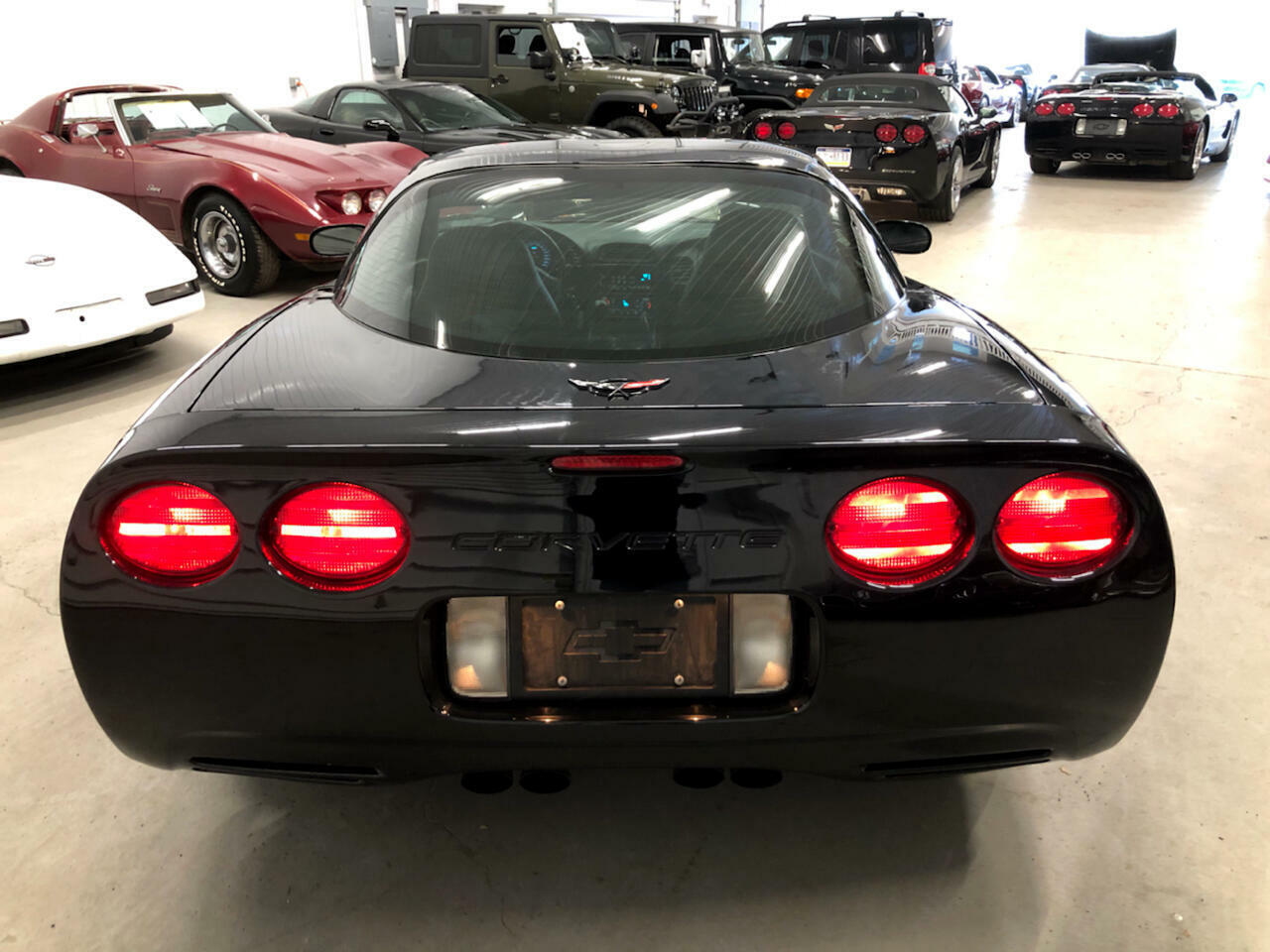 1999 Black Chevrolet Corvette Coupe  | C5 Corvette Photo 8