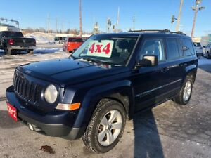 2012 Jeep Patriot 4X4/ONE OWNER/NO ACCIDENT/CERTIFIED/WARRANTY I